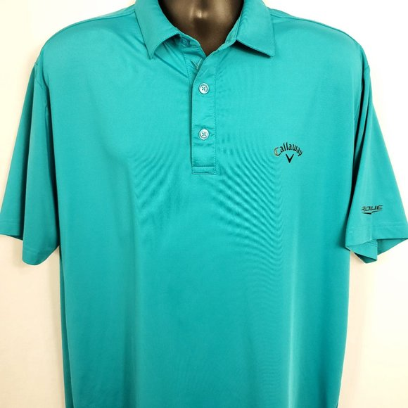 Callaway Opti-Dri Golf Polo Shirt Teal
